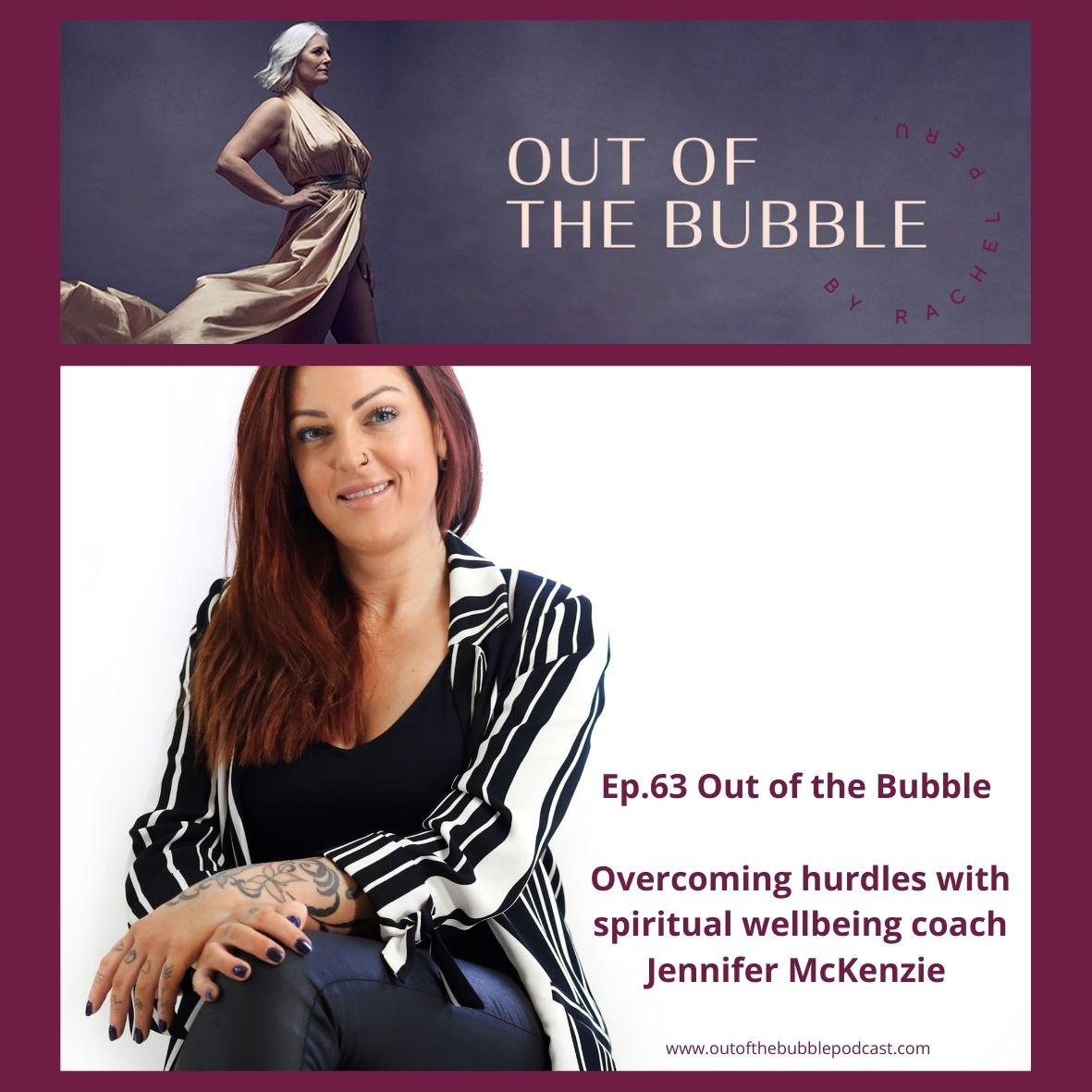 Ep.63-Out of the Bubble with the conscious living coach Jennifer McKenzie